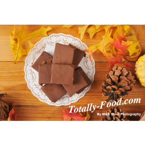 fudge stock photo