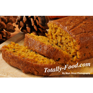 royalty free pumpkin bread photo