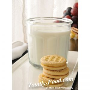 cookies and milk stock photo
