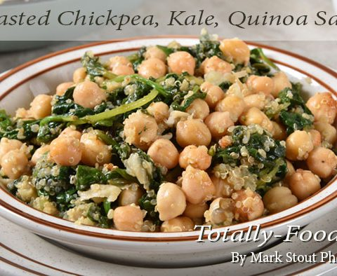 Fried chickpea recipe