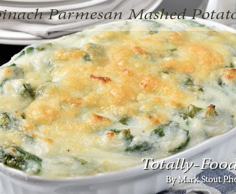 spinach potatoes
