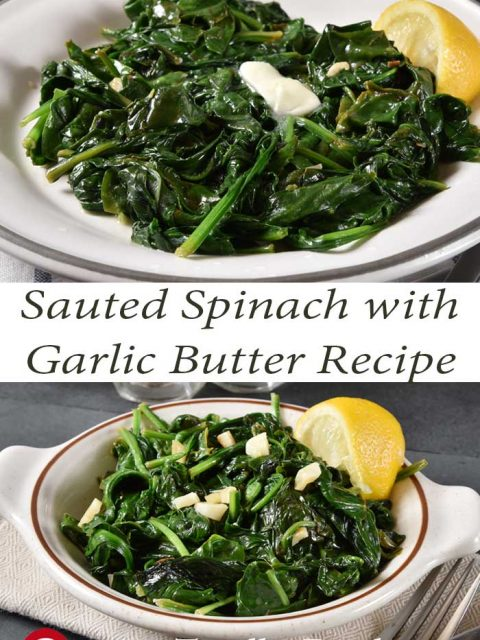 Sautéed Spinach with Garlic Butter Recipe